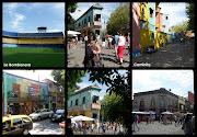 . o museu de Cera e o estádio La Bombonera sede do Boca Juniors.