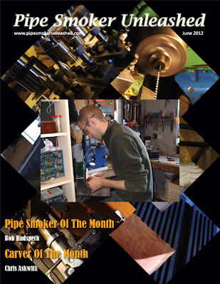 Pipe Smoker Unleashed Magazine Cover - June 2012