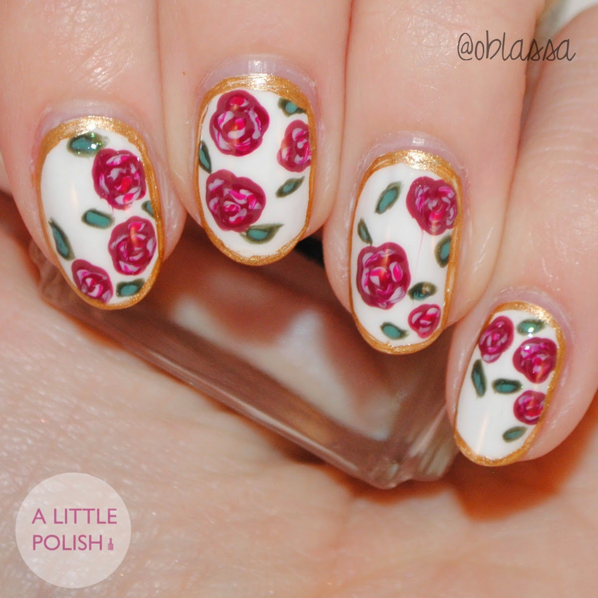 A Little Polish: The Nail Challenge Collaborative Presents - Tea ...