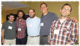 Most of the YCT rabbis at the second annual Hillel Institute