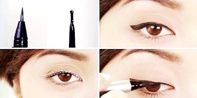 Cara Memakai Eyeliner