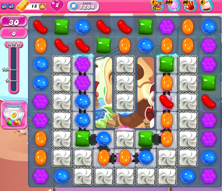 Candy Crush Saga 1284
