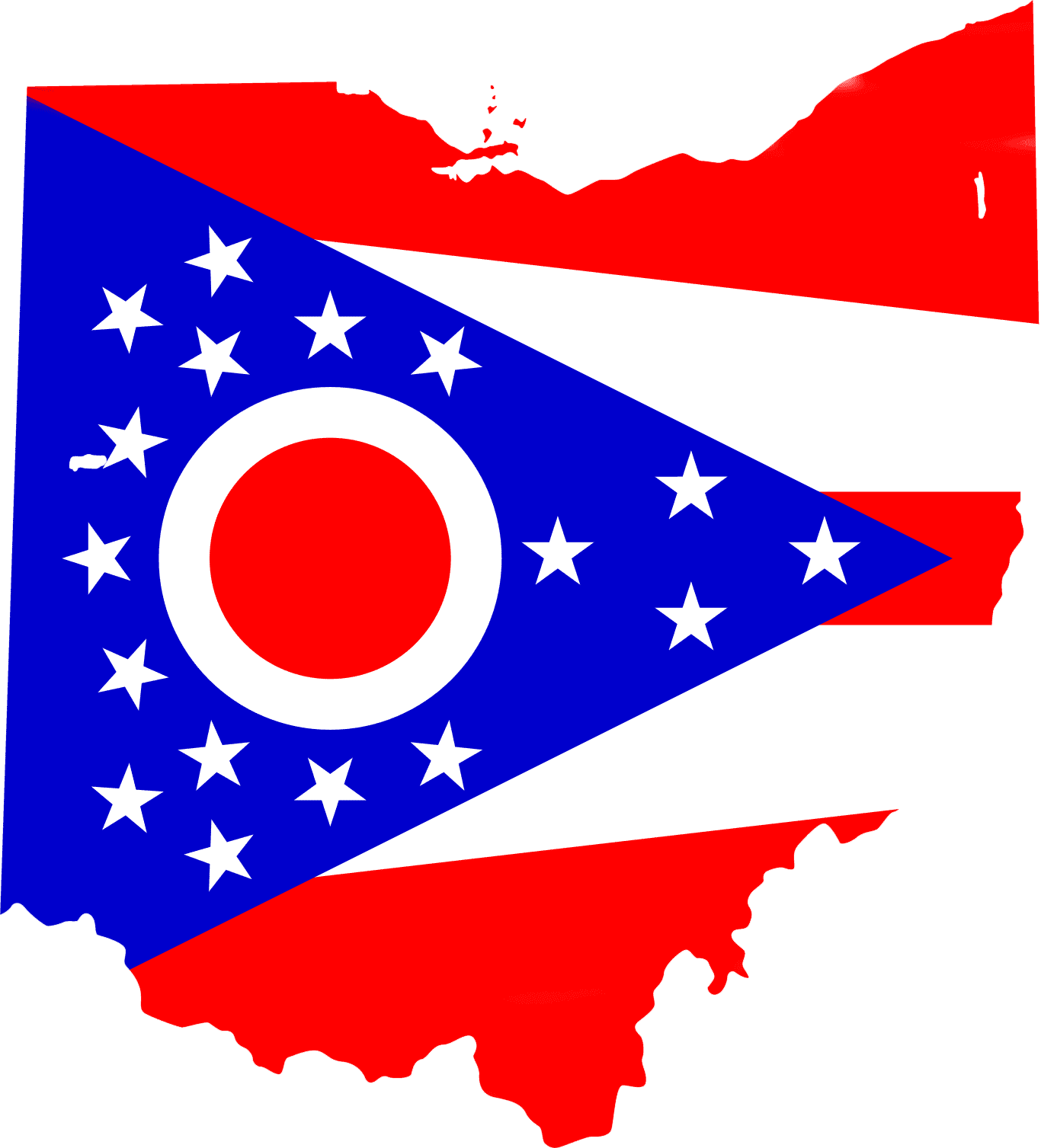 Ohio Flag 072911» Vector Clip Art - Free Clipart Images