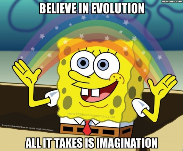 "Evolution is incorrectly used to ""explain"" many things found in nature, utilizing jaw-droppingly bad science."