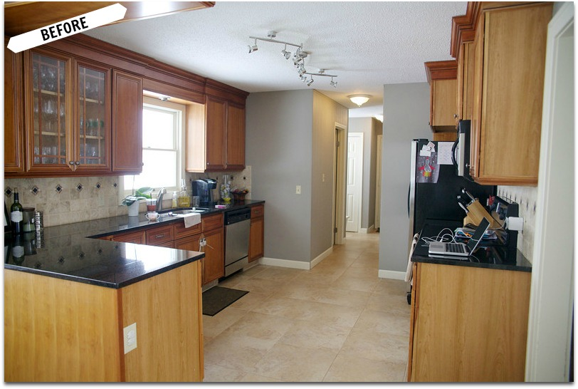 Before After Client Kitchen