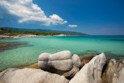 sandy beaches with crystal clear water in Greece (sandy beaches with crystal clear water in greece )