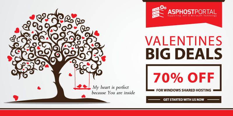 Best ASP.NET 5 Hosting – Valentine's Day Hosting Promotion