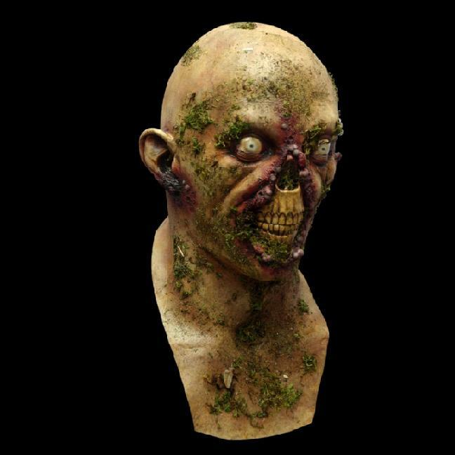 realistic halloween horror masks at dug up collectors top quality full head zombie mask realistic scary halloween horror masks