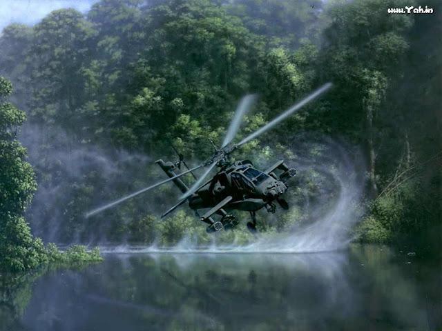Wilayah Berau Kaltim Akan diperkuat Tank Leopard dan Helikopter Apache