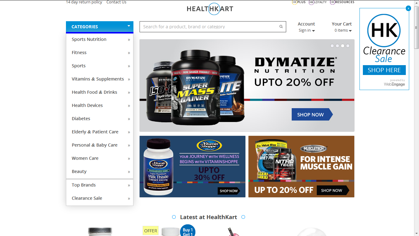 Healthkart.com and Healthkartplus.com Review