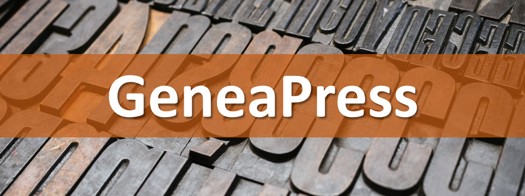 Welcome to GeneaPress