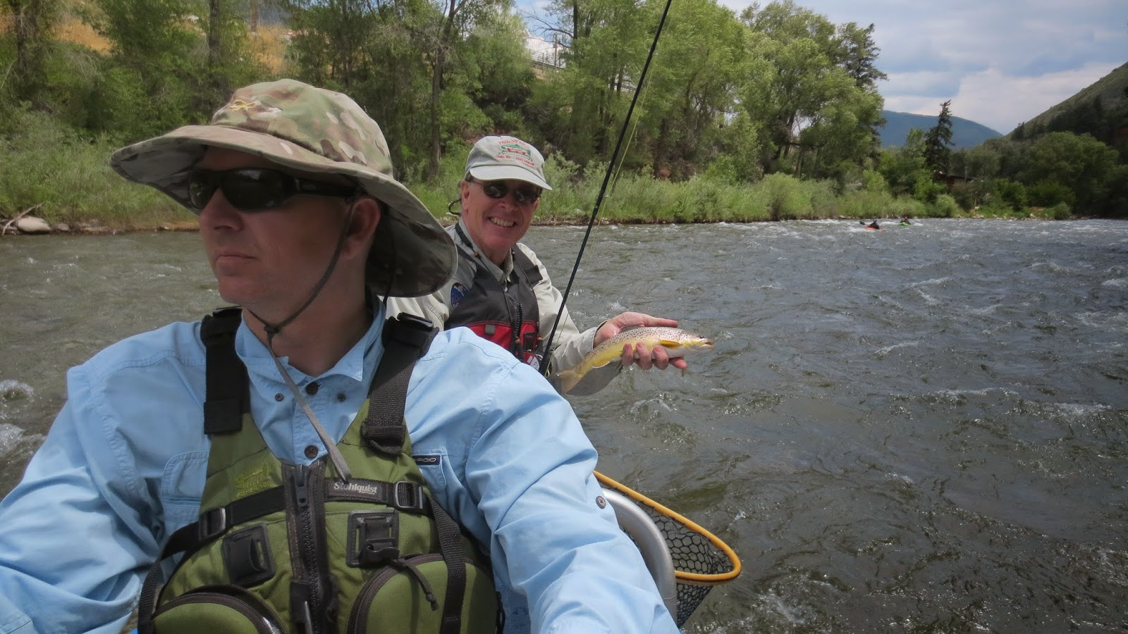 7 20 14 colorado fishing report jay scott outdoors for Colorado river fishing report