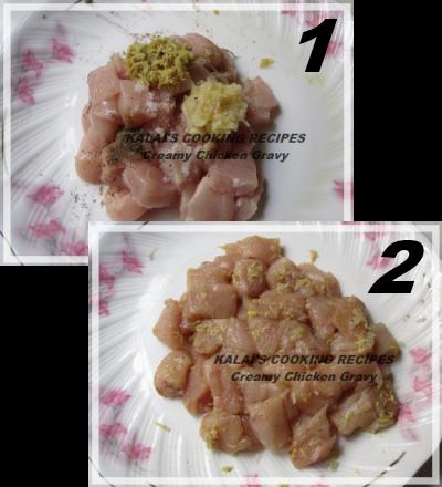Creamy Chicken in Curd Cashew Gravy   கோழிக்கறி கிரேவி   Kozhi Kari Thayir Mundiri Gravy