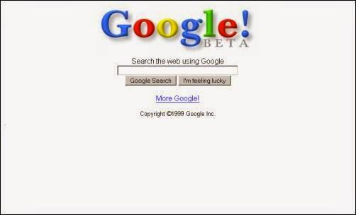 Tampilan Google Dari Tahun ke Tahun 3