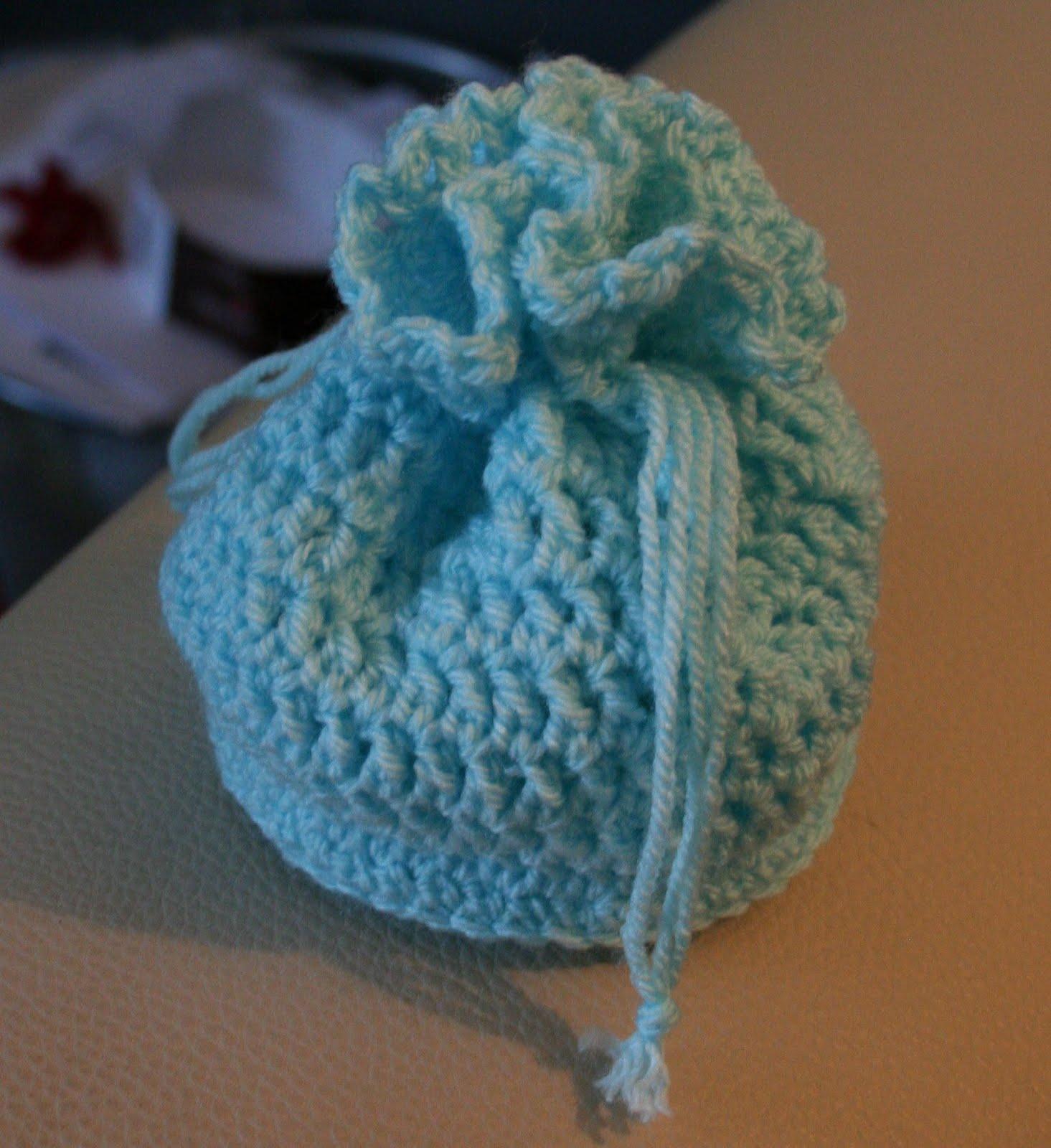Hazels Crochet Wedding Favour Pouch