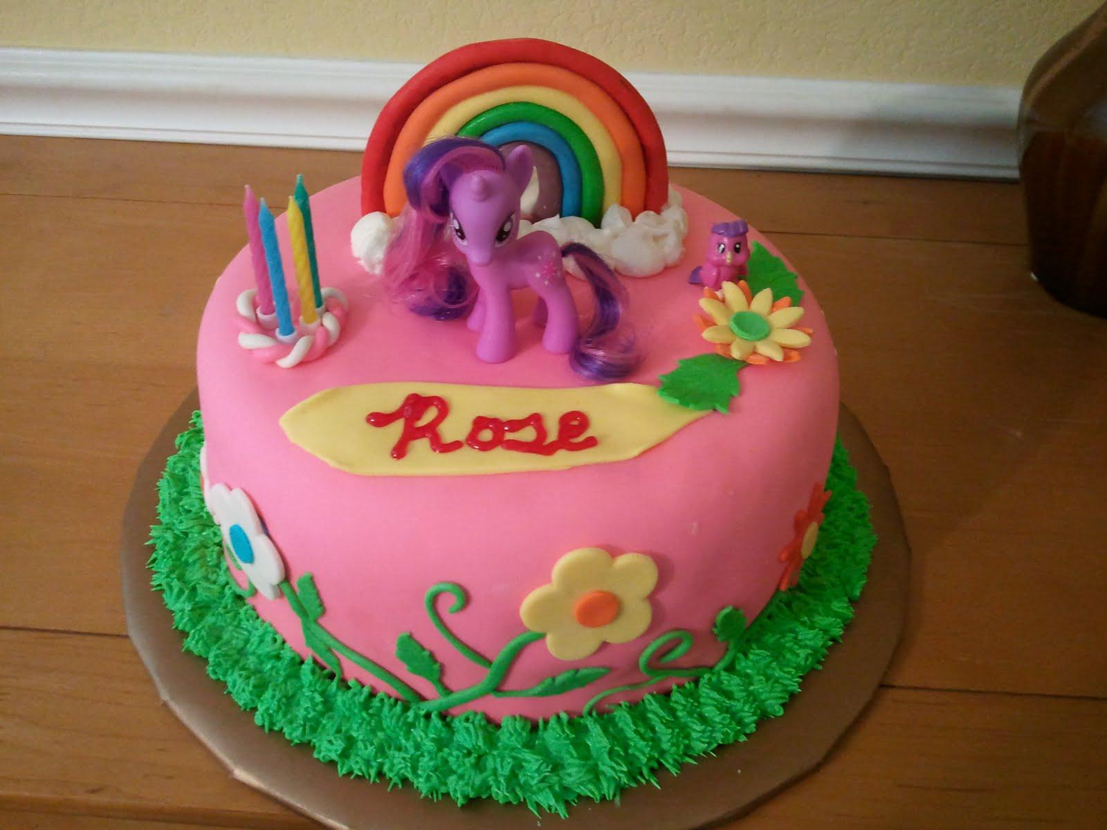 Mimos Custom Cakes My Little Pony Cake