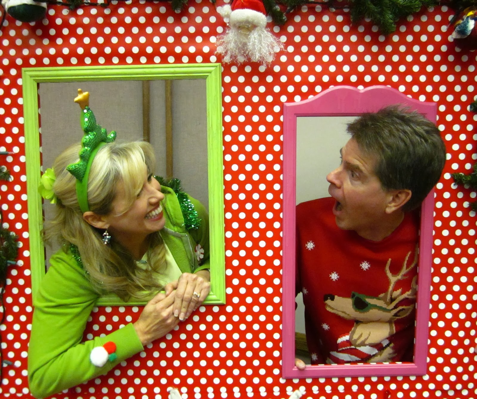 Honey I'm Home: Ugly Christmas Sweater Party Fun