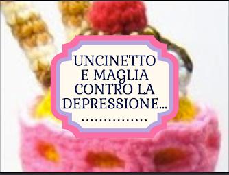 Uncinetto e maglia contro la depressione...