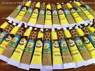 bisnagabobsponja confeitaria Mr. & Mrs. Sponja !!!!