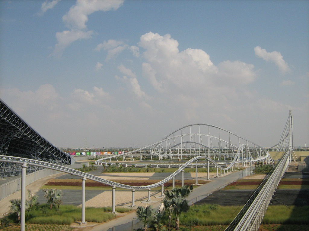 ferrari abu dhabi roller coaster photos information news. Cars Review. Best American Auto & Cars Review