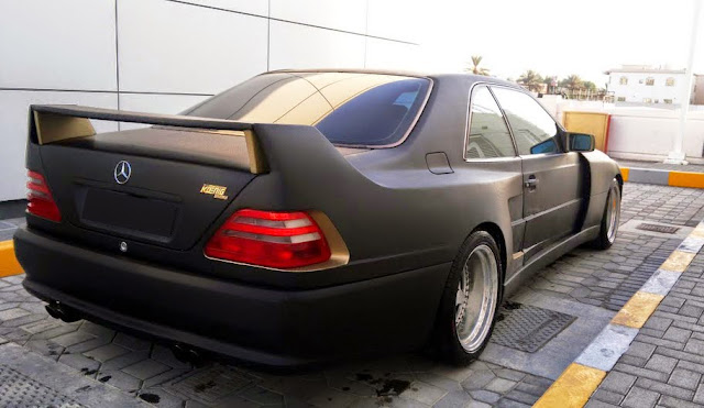mercedes cl500 140 koenig specials
