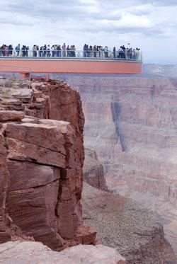 Passarela de Vidro do Grand Canyon