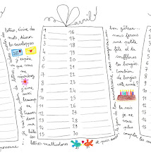 Le calendrier des anniversaires