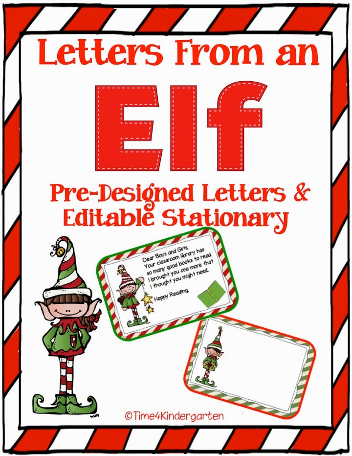 Elf on a Shelf, Elf on a Classroom Shelf, Elf in kindergarten, Elf ...