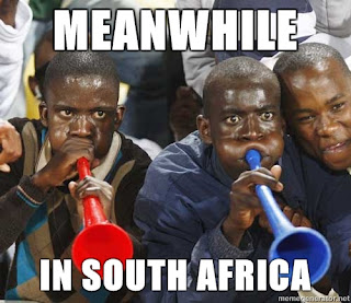 meanwhile in south africa