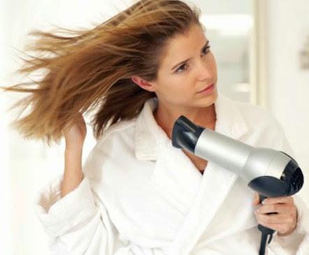 Benefícios do jato frio nos cabelos