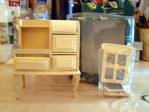 Peque eces diy personalizando muebles de madera - Muebles en crudo para pintar ...