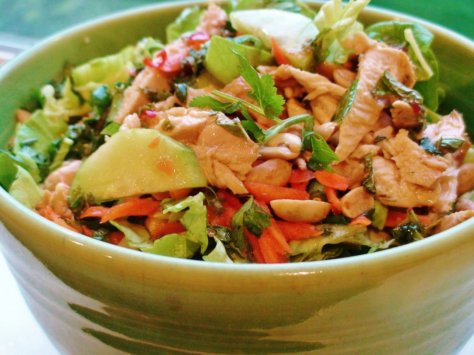 ... cucumber salad grilled salmon with thai cucumber basil salad recipes