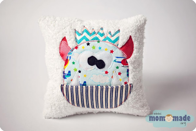 Monster Tooth Fairy Pillows on Sale at Mom-Made
