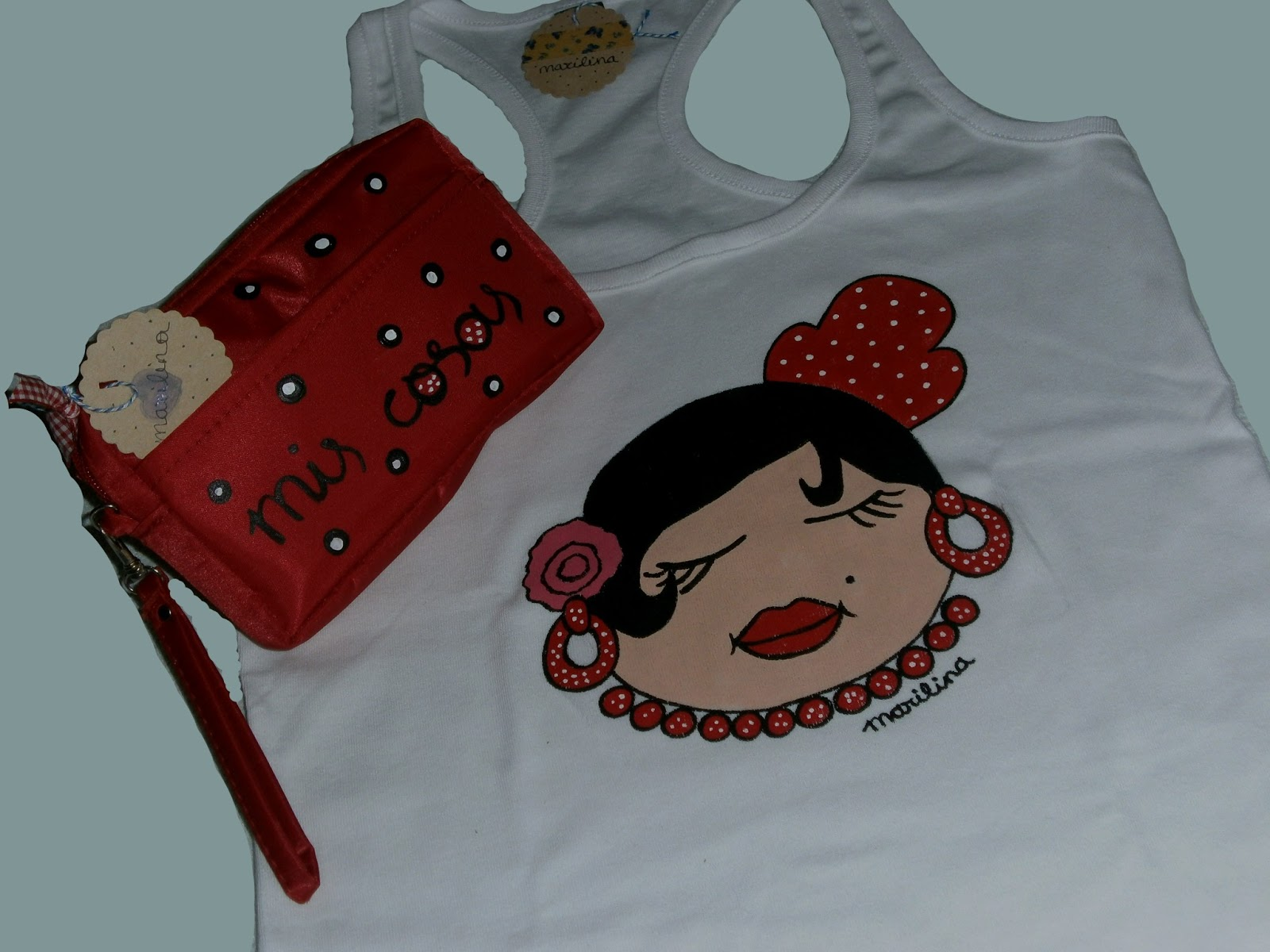 Marilina regalayreg late camiseta gitanilla y bolsita de - Delantal masterchef personalizado ...