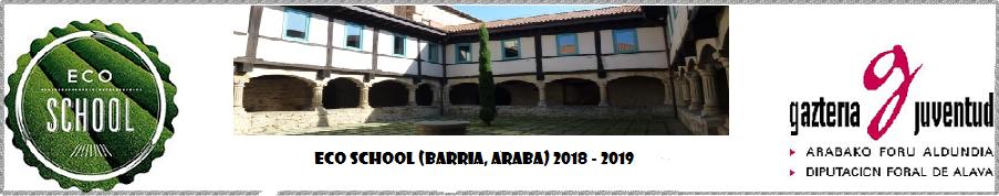 Eco School 2018 - 2019