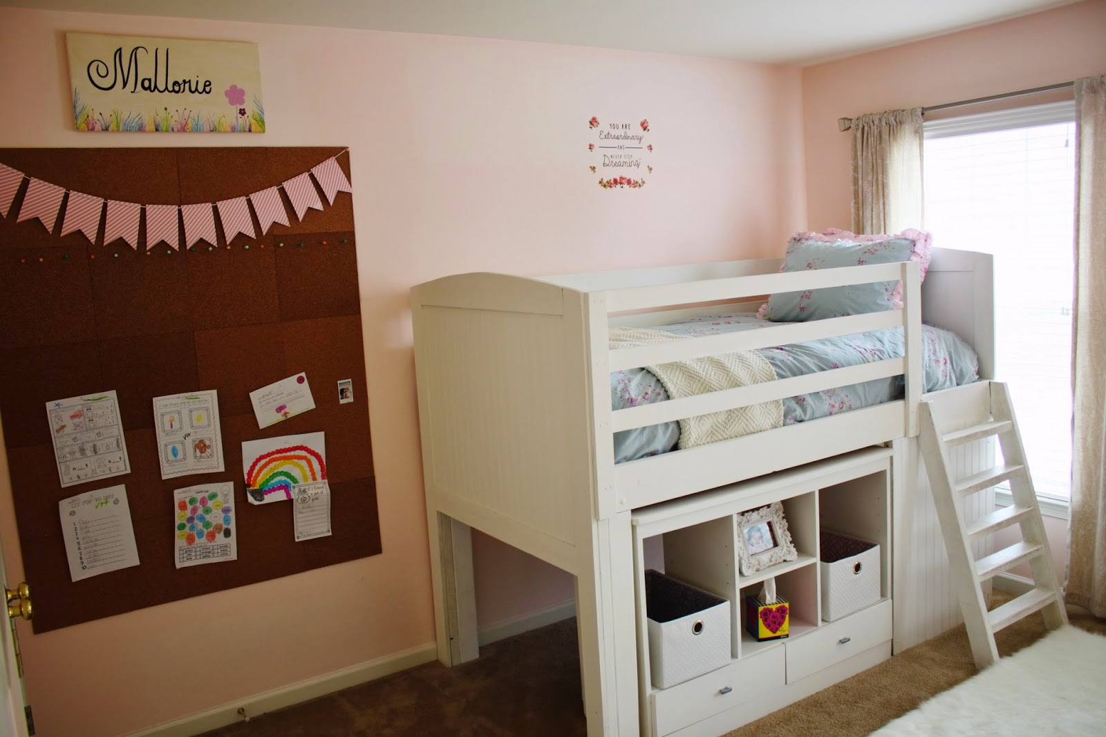 My Simple Modest Chic: Little Girls Room Makeover