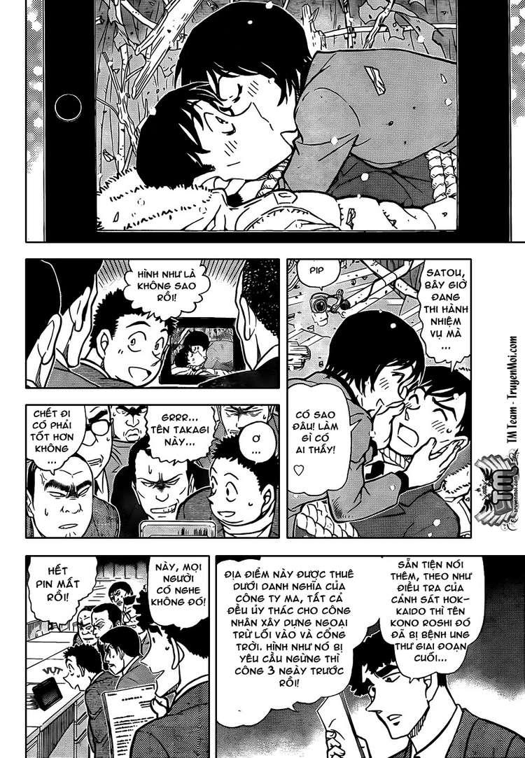 Detective Conan - Thám Tử Lừng Danh Conan chap 808 page 14 - IZTruyenTranh.com