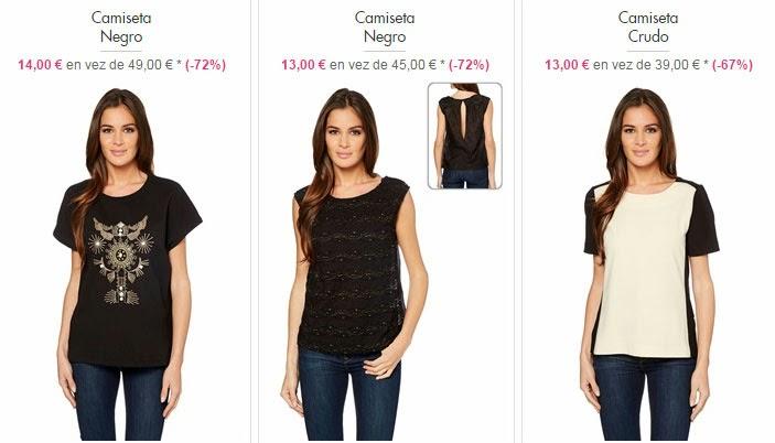 Tops y camisetas