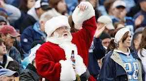 Santa at NFL games