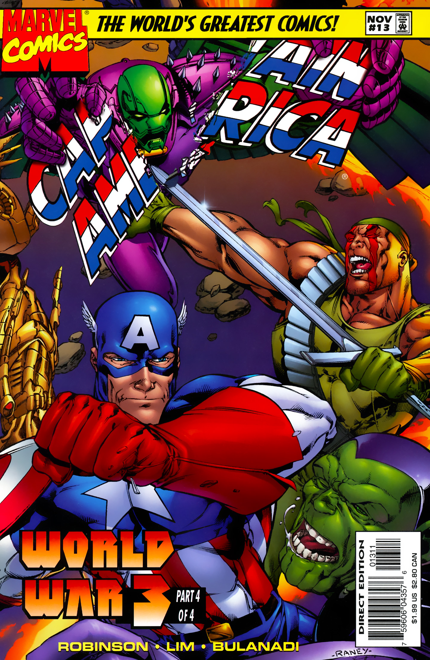 Captain America (1996) Issue #13 #19 - English 1