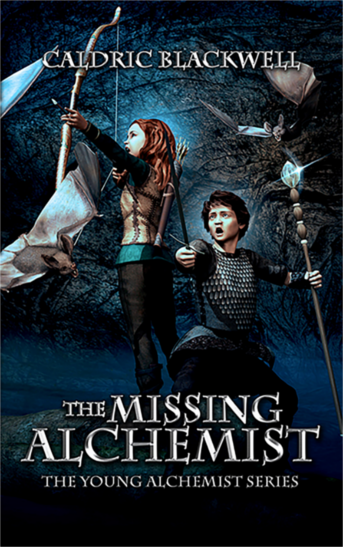 caldric blackwell, the missing alchemist, children's book, early chapter book, middle grade