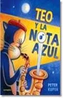 Teo y la nota azul,Peter Kuper,Sexto Piso  tienda de comics en México distrito federal, venta de comics en México df