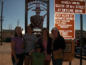 With friends in Tombstone