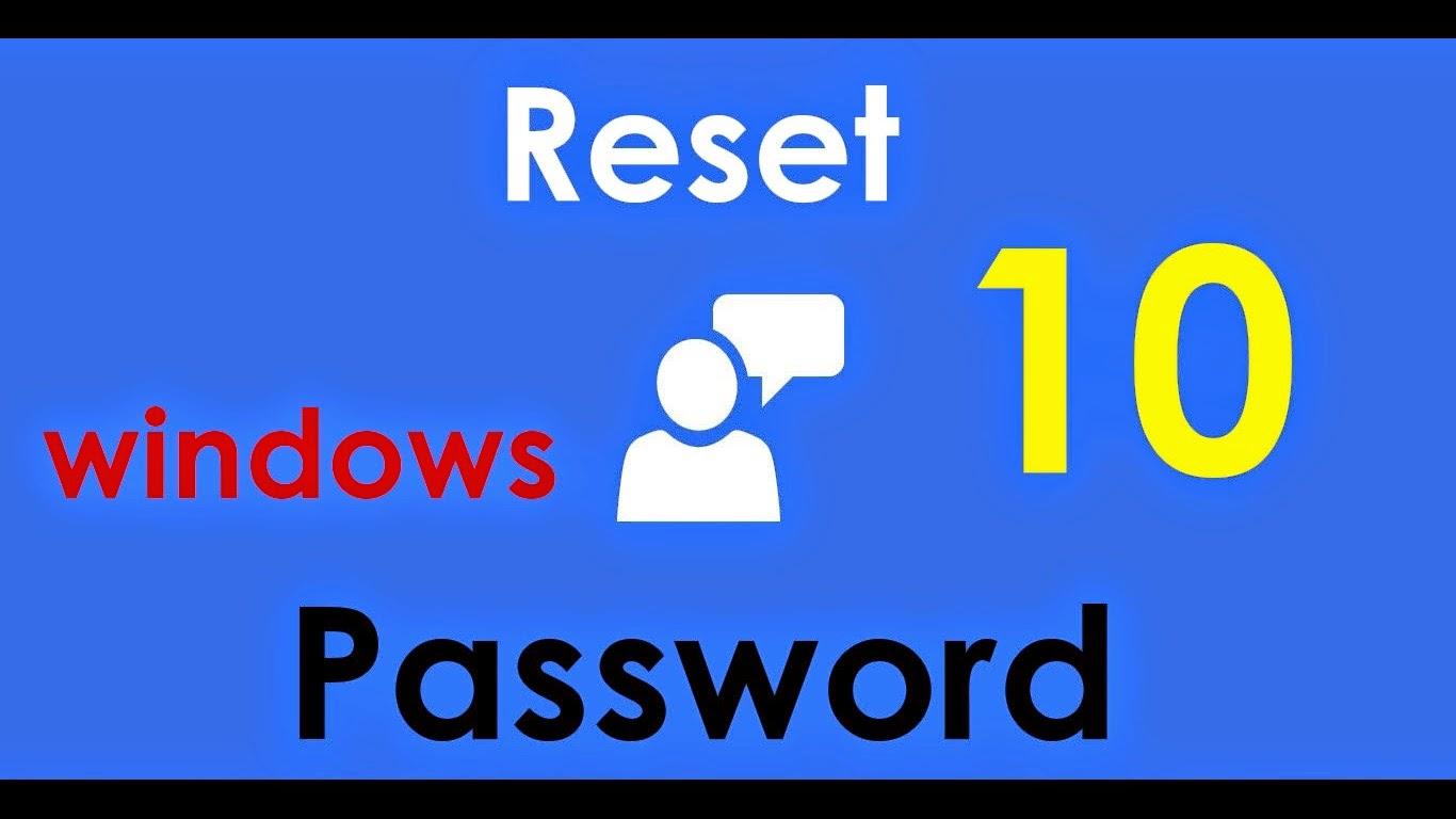 windows password in windows 10