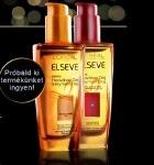 L'Oréal Paris Elseve Selymes Olaj terméktesztelés
