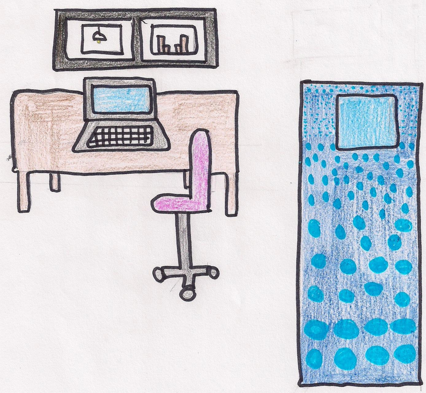 ROOM no 3. ENGLISH Christine Picasso  Describing MY BEDROOM