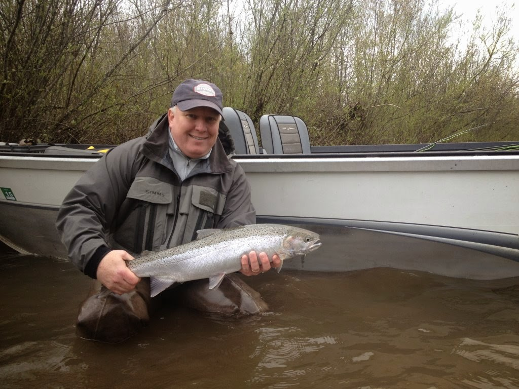fly fish oregon water time report clackamas river fishing