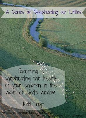 Shepherding our Littles {Reading List}
