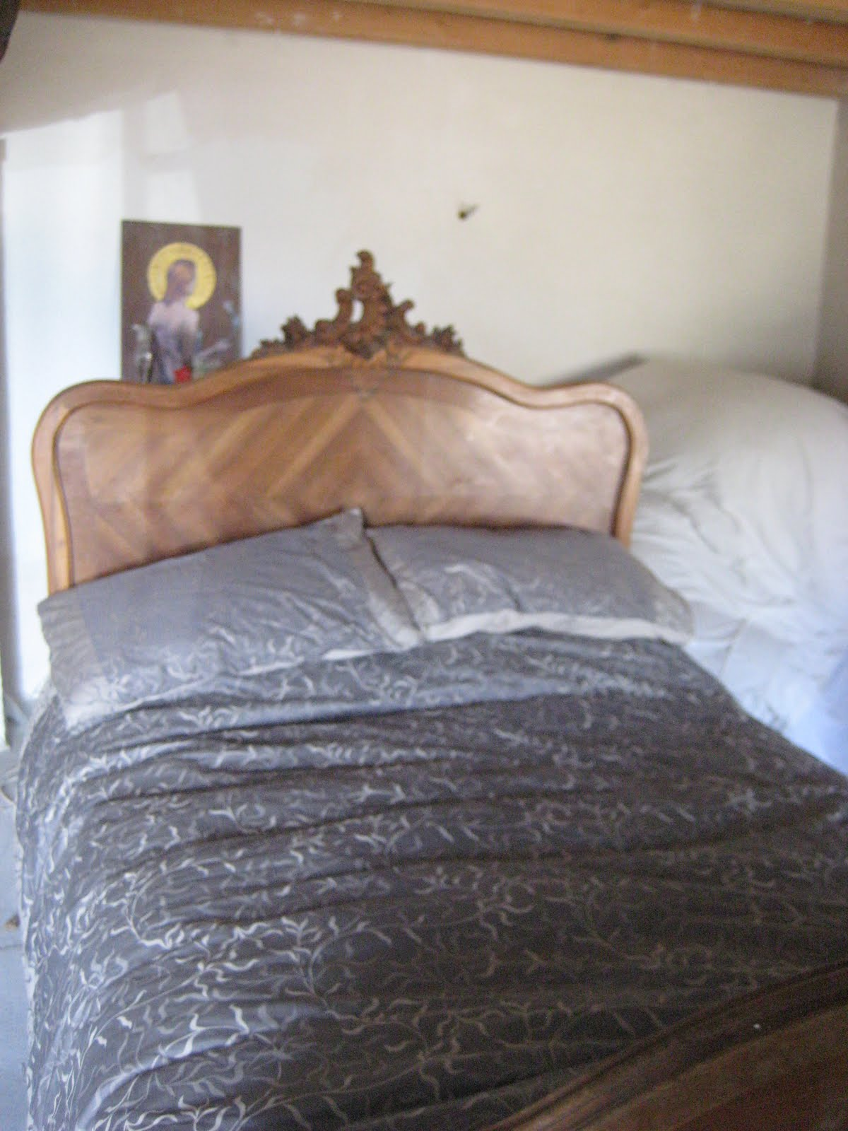 Coolemporium classic french double bed for sale for Classic french beds
