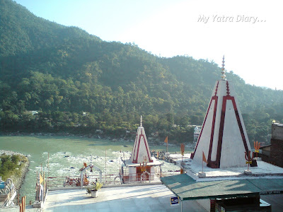 13 floored Kailash Niketan Temple in Rishikesh